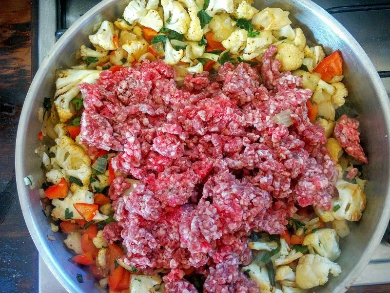 תבשיל בשר טחון