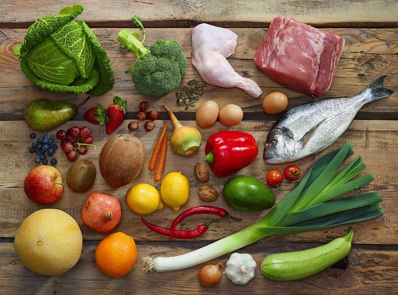 מגוון מזון אדיר מהטבע
