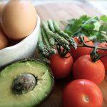 ירקות וביצים