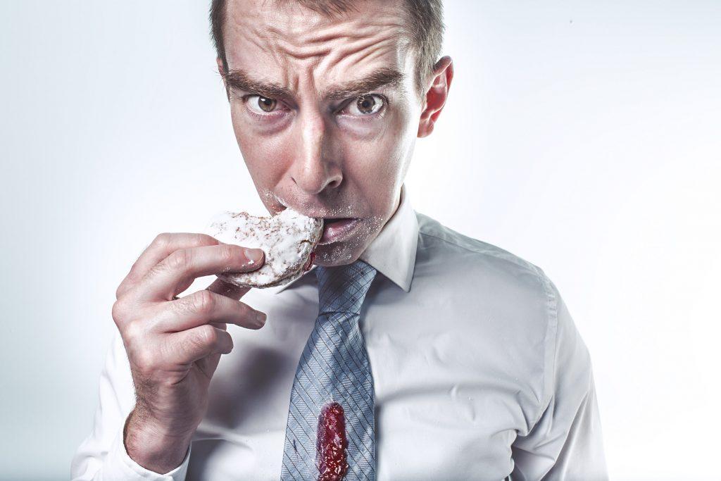 איש אוכל דגנים