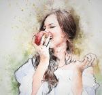 אכילת תפוח