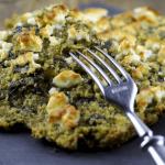 פשטידת תרד ובצל עשירה - ללא גבינה